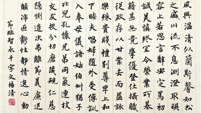 寧夏第十二屆書法臨摹展作品選登