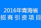 2016年青海省招商引資項目