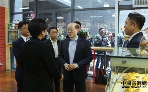劉結一在上海調研對臺工作