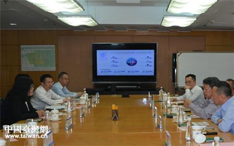 臺灣新竹科學園區同業公會考察團到濱海新區參訪考察