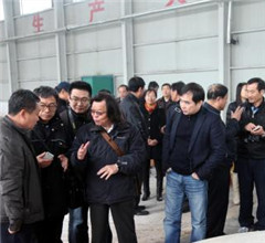 臺灣中華酒協代表團到河北衡水老白幹集團參觀交流