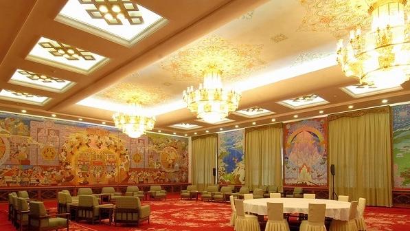 畫家葉星生與人民大會堂壁畫《珠峰疊彩》的故事