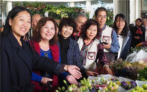 臺灣苗栗婦女代表團到昆明婦女創新創業中心參觀交流