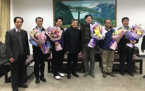 廣西百色市領導走訪慰問臺商、臺籍教師