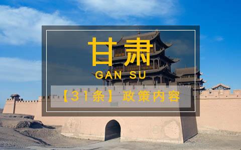 甘肅省貫徹《關於促進兩岸經濟文化交流合作的若干措施》的實施意見