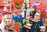外國遊客喜歡來中國過節 中國節日成入境遊新亮點