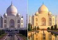 泰姬陵因污染竟由白變土黃 印度法院急向當局喊話