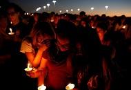 美國數千學生佛州議會外集會抗議 呼籲管制槍支