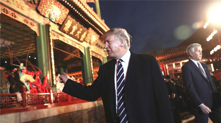 特朗普訪華看京劇 看熱愛中國文化的外國政要