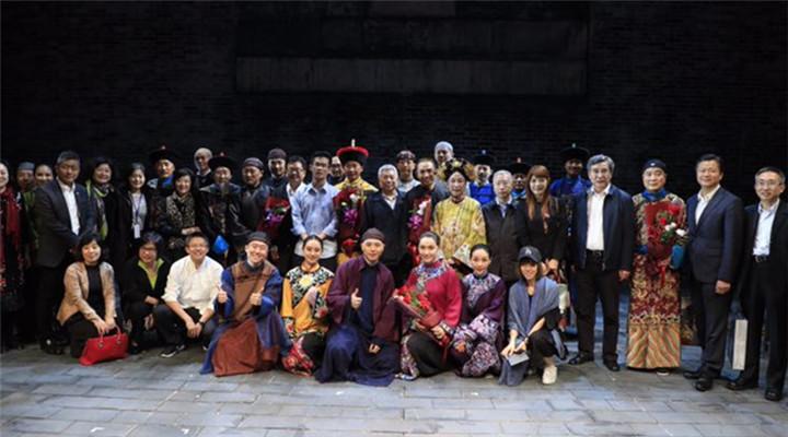 天橋藝術中心開幕大戲《北京法源寺》赴臺
