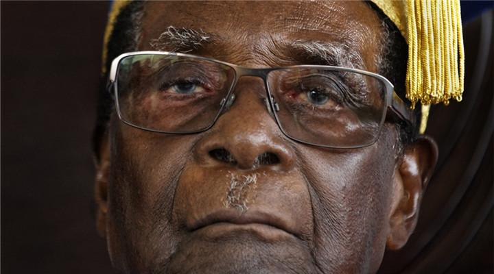 93歲穆加貝辭去總統職務 結束37年統治