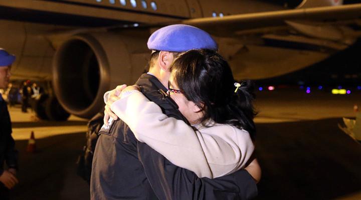 中國第六支赴南蘇丹維和警隊凱旋