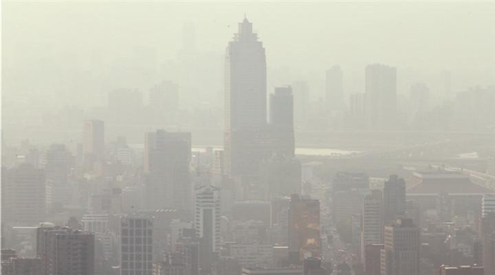 臺北霧霾再次紅警 距上次紅警不滿兩周