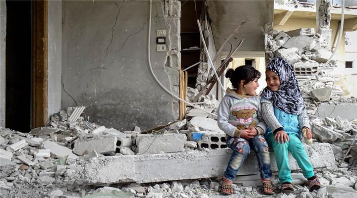 敘利亞戰火紛飛 圖看陰影籠罩下的童年