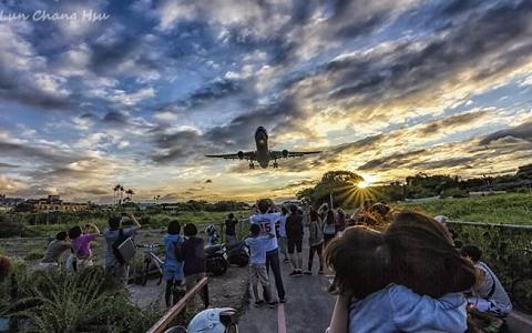 臺北5大絕美追機熱點曝光 航空迷攝影迷們有福了