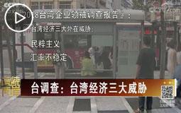 臺調查:臺灣經濟三大威脅