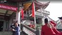 臺灣升起五星紅旗