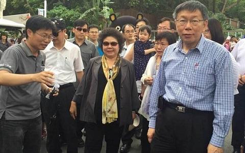 陳菊被拱選臺北市長 網友:柯文哲這一招已把她打趴