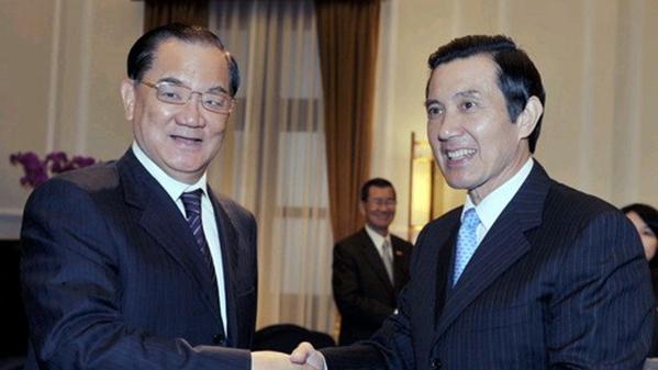 馬英九、洪秀柱呼籲中國國民黨精誠團結 前主席連戰帶病投票勉勵朱立倫再創兩岸和平