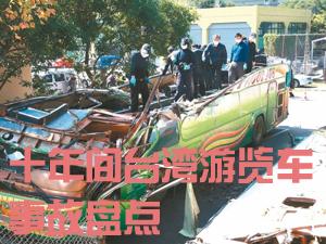十年間臺灣遊覽車事故盤點