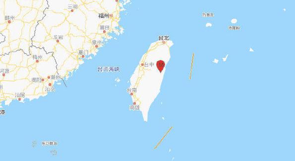 5.6級!6.1級!臺灣花蓮縣附近剛剛接連發生兩次地震