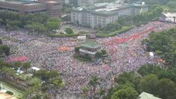 14.5萬民眾上街怒吼蔡英文