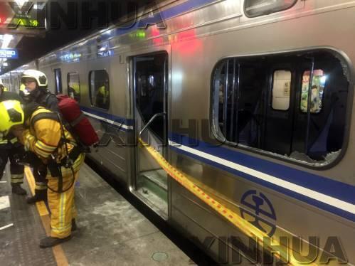 臺鐵列車松山站爆炸起火21人傷 列車上發現爆竹