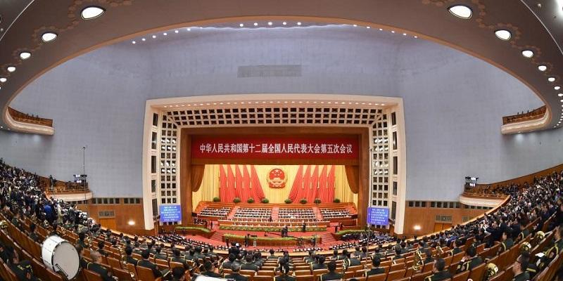 組圖:十二屆全國人大五次會議在北京閉幕