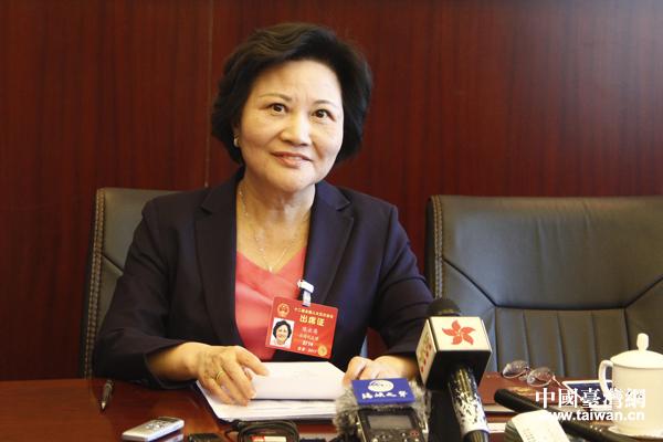 臺籍人大代表陳雲英:用腳投票的臺灣青年越來越多