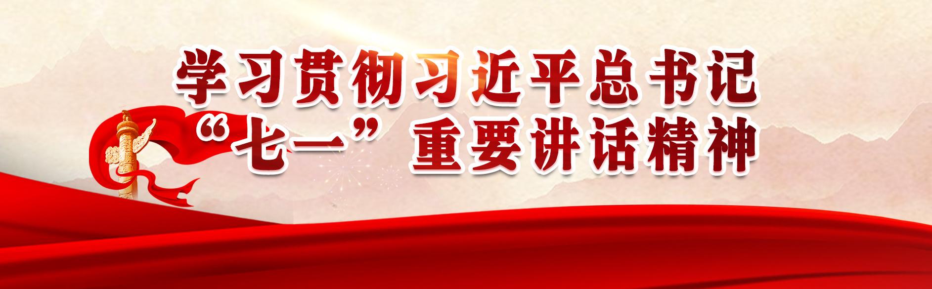 """學習貫徹習近平總書記""""七一""""重要講話精神"""