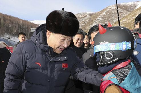 習近平:不要貪大求全 高品質完成冬奧會籌辦
