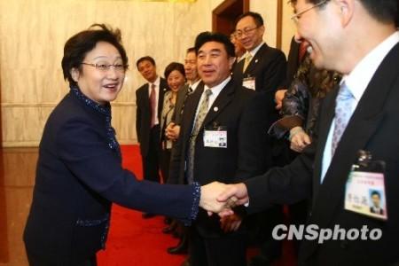 李海峰會見中國和平統一促進會香港總會訪京團